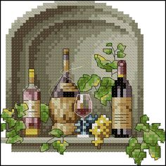 Cross Stitching, Cross Stitch Embroidery, Cross Stitch Patterns, Cross Stitch Kitchen, Needlepoint Designs, Cross Stitch Flowers, Different Patterns, Arrow Keys, Close Image