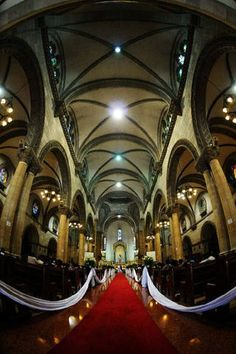 Wedding at the Manila Cathedral, Philippines