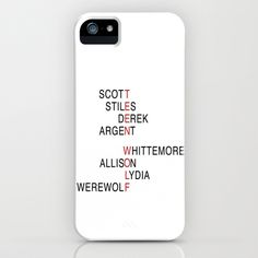 Teen Wolf  iPhone & iPod Case by Dan Lebrun - $35.00