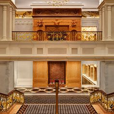 The Lotte New York Palace is the first five-star hotel in NYC's history offering ultra-luxurious amenities, distinctive events spaces, and opulent suites. Neoclassical Architecture, Architecture Details, Interior Architecture, New York Hotels, Luxury Homes Interior, Interior Design, Palace Hotel, 3d Max, Pent House