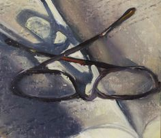 Glasses on a Book, 3/26/2014 by Duane Keiser