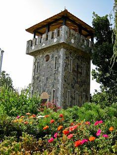 Monastery tower in Skackovce, Macedonia. Designed by Jankov Andrea, d.i.a. zamdizajn@gmail.com
