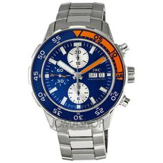 IWC Aquatimer Automatic Chronograph Stainless Steel Mens Watch IW3767-03