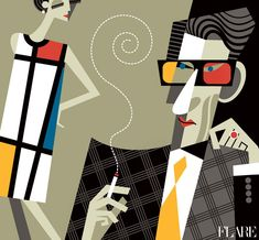 YSL by Pablo Lobato #illustration #fashion