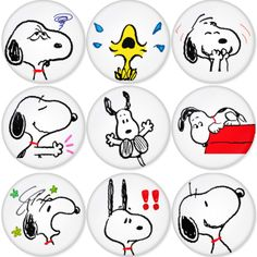"SNOOPY 1.75"" Badges Pinbacks, Mirror, Magnet, Bottle Opener Keychain http://www.amazon.com/gp/product/B00C30D728"