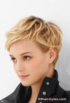 cute blonde short hair - 99 Hairstyles Ideas