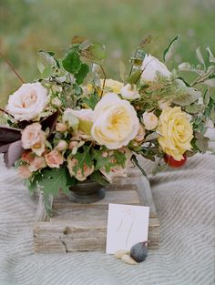 Autumn Wedding Inspiration in the Mountains