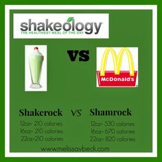 Shakerock Shake, shakeology, greenberry, mcdonalds, healthy smoothie, clean eating, recipes, meal planning, fast and good shake www.melissavbeck.com for more recipes just like this!!!