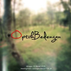 #OPTIIKBedengan adalah projek upload hasil hunting OPTIIK ke Hutan Bedengan, Dau, Malang.