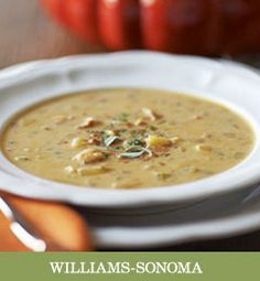 Recipes from The Nest - Butternut Squash Chowder