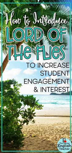 """Introduce your students to William Golding's novel """"Lord of the Flies"""" with this engaging and high-interest introductory activity."""