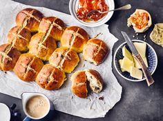 Hot Cross Buns Rezept Edeka Rezept Rezepte Lebensmittel Essen Edeka