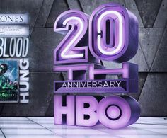 HBO – 20th Anniversary by Ars Thanea