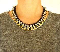 Modern Statement Necklace Uncovet ($50-100) - Svpply