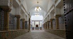 """Sqifa """"hall d'acceuil dans un palais dans la basse Casbah Alger"""