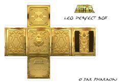 Leo Aiolia Cloth Box papercraft. Leão de Aioria Caixa de Pandora/Urna Sagrada…