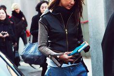 Keep Calm & Do It Yourself: DIY Zipper Studded Leather Jacket