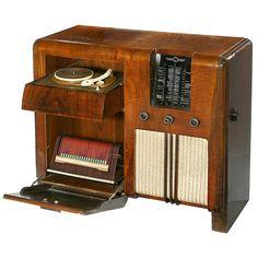 Imperial Stassfurt Radiogram, 1939