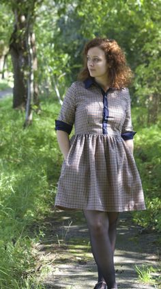 Winter Camí Dress by Tante Karlo #sewing #dresses