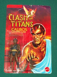 Calibos, Lord of the marsh, from the Clash of the Titans toy line in the early '80s