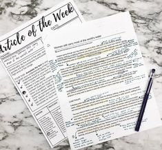 The best, most simple way to improve reading and writing skills is to read and write a lot. Article of the Week is getting my kids reading…