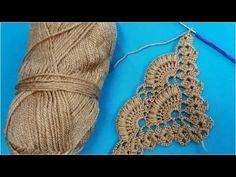 Crochet Flower Tutorial, Diy Crochet, Crochet Crafts, Crochet Projects, Diy Crafts, Crochet Buttons, Crochet Stitches, Crochet Patterns, Crochet Shawls And Wraps