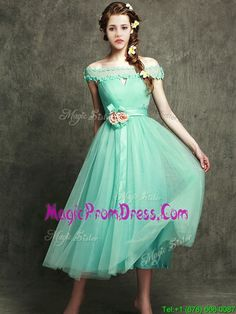51f6deed57 Buy exclusive hand made flowers ankle length prom dress in apple green from  cheap prom dresses shop
