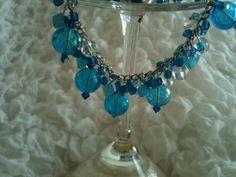 Charm bracelet #handmade #fashion #jewlery @5one7designs @Etsy