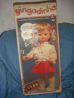 Boneca Antiga Da Estrela Gingadinha - Somente O Colete - R$ 30,00 no MercadoLivre