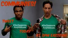 From AmeDawg18: Tweet #sixseasonsandamovie today at 3pm Eastern! (Daily through Friday 4/25)