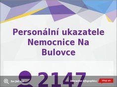 Personální ukazatele Nemocnice Na Bulovce by Martin Šalek - Infogram Infographic, Infographics, Visual Schedules
