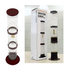 Cold Brew Coffee Maker Iced Coffee Home Cold Drip Coffee Dutch Q Made in Korea for sale online Iced Coffee Maker, Cold Brew Coffee Maker, Coffee Shop, Coffee Cups, Coffee List, Drinking Black Coffee, Drinking Tea, Cold Drip, Best Beer