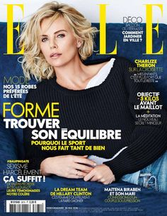 Charlize Theron na capa da Elle França | SAPO Lifestyle