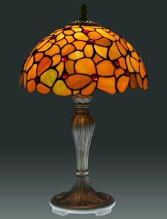 tiffany lamp.