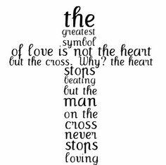 cross,love