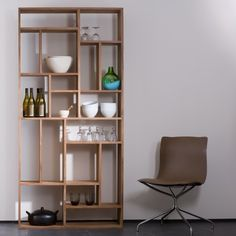 Made from solid teak, this is part of a range of products that combine design and function with expert craftsmanship. Teak is a dense hardwood that has a high percentage of naturally occurring oil which makes it moisture tolerant. The teak is glass p Bookcase With Drawers, Wooden Bookcase, Bookcase Shelves, Storage Shelves, Shelving, Bookcases, Shelf, Living Room Furniture, Home Furniture