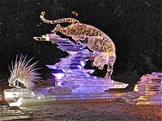 2013 World Ice Art Championships  Fairbanks, AK