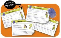 Grammaire Mystère Cycle 3 - Bout de gomme Cycle 3, School Organisation, French Grammar, French Class, Early Finishers, Teaching French, Best Teacher, School Projects, Kids Learning