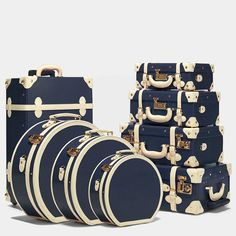 Beautifully bound luggage of high style and modern performance. Colourful cabin and checked cases, handhelds and hatboxes, your SteamLine will be the most complimented item you own. Make every trip an adventure. Cabin Luggage, Travel Luggage, Luggage Bags, Travel Bags, Cute Suitcases, Vintage Suitcases, Vintage Luggage, Luggage Sets Cute, Luxury Luggage