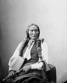Black Crow - Arapaho - 1872