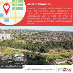 Bom dia! Conheçam um pouco mais sobre a história do Jardim Planalto e o mercado imobiliário. #ImobuyMeuBairro