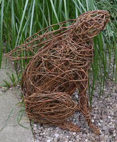 Willow hare by Ann Catherall
