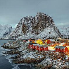 Reine, Lofoten Islands, Norway.