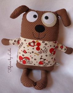 Trendy sewing ideas for dogs fabrics IdeasReally want excellent tips concerning arts and crafts? Head to this fantastic info!do a basket full of these in all kinds and let ea child take one homeContent filed under the Dog Toys taxonomy. Fabric Toys, Fabric Crafts, Sewing Crafts, Sewing Projects, Sewing Ideas, Sewing Stuffed Animals, Stuffed Toys Patterns, Sewing For Kids, Baby Sewing