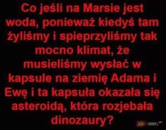 Wtf Funny, Funny Cute, Funny Memes, Jokes, Polish Memes, Disney Memes, Funny Stories, Man Humor, Mind Blown