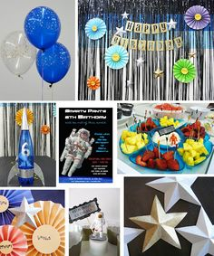 Space / Astronaut birthday party
