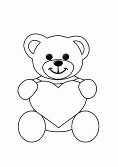 Ayı boyama sayfası, Bär ausmalbilder, Colorear de oso, Seite ok … – Hayvan Boyama Sayfası – Animal Coloring Pages - Malvorlagen Mandala Bear Coloring Pages, Coloring Pages To Print, Free Printable Coloring Pages, Arte Do Mickey Mouse, Victorian Christmas Decorations, Crafts For 3 Year Olds, Valentines Day Coloring Page, Hand Embroidery Patterns, Fabric Painting