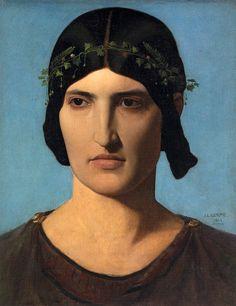 Portrait of a Roman Woman - Jean-Léon Gérôme, 1843