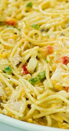 "Chicken Spaghetti ~ This really is one of the all-time greatest ""make before"" comfort foods. A Pioneer Woman Recipe Chicken Spaghetti ~ This really is one of the all-time greatest make before comfort foods. A Pioneer Woman Recipe Pioneer Woman Chicken, Pioneer Woman Recipes, Chicken Spaghetti Pioneer Woman, Pioneer Women, Pioneer Woman Freezer Meals, Chicken Spaghetti Recipes, Chicken Recipes, Chicken Spaghetti Recipe Ree Drummond, Chicken Spagetti"