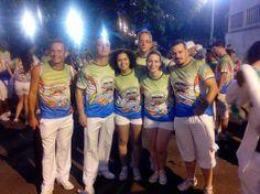 Performático ÉOS no Sambódromo do Rio de Janeiro